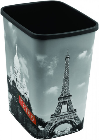 Odpadkový koš FLIPBIN 25L bez víka - PARIS