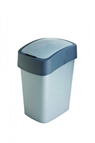 Odpadkový koš FLIPBIN 10L - šedý