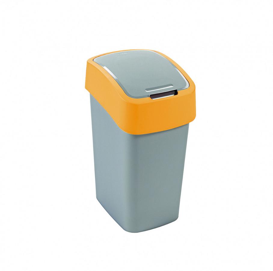 Curver Odpadkový koš FLIPBIN 10L - žlutý