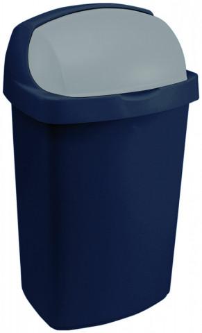 Odpadkový koš ROLL TOP 25L - modrý