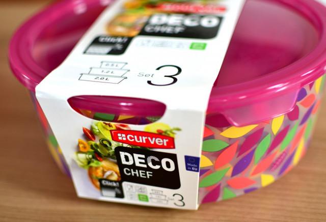 Set dóz 3ks DECO CHEF - květy