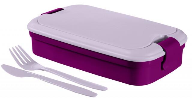 Dóza LUNCH & GO box - fialový