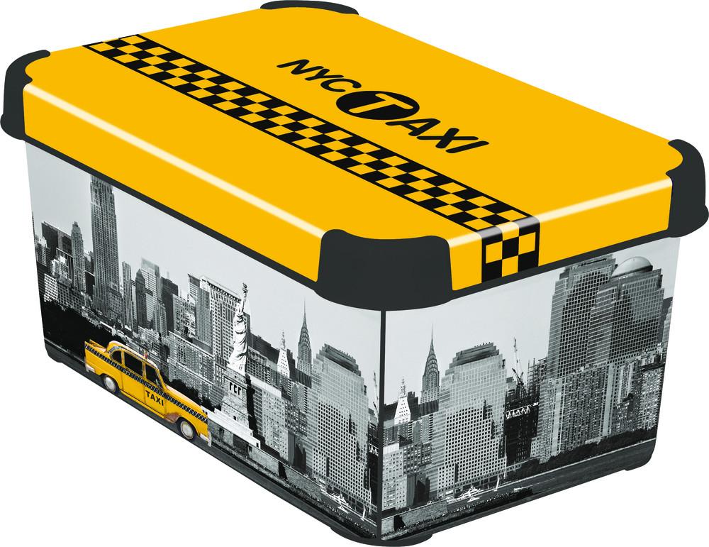 Curver Box DECOBOX - S - NY CITY