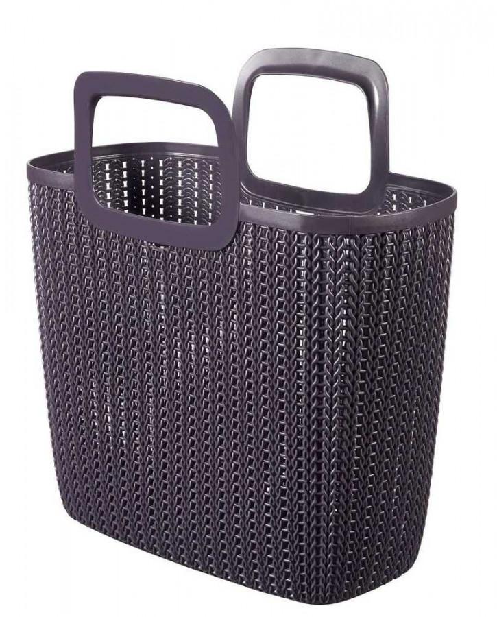 Curver Nákupní taška KNIT - fialová