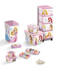 Dětský úložný box DECOBOX - S - PRINCESS