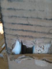 Televizní stolek SOHO 140 - bílá/černá - II. jakost č.4