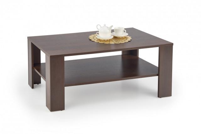 Konferenční stolek Kwadro ořech tmavý