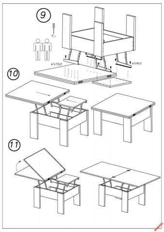 Konferenční stolek Serafin č.3