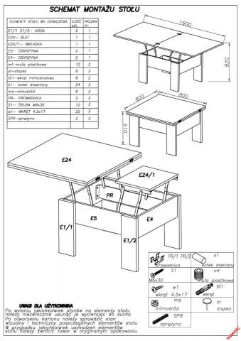 Konferenční stolek Serafin č.5