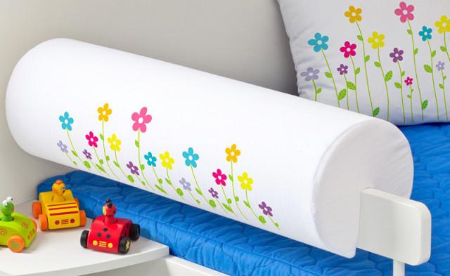 Chránič na postel - Malé květinky