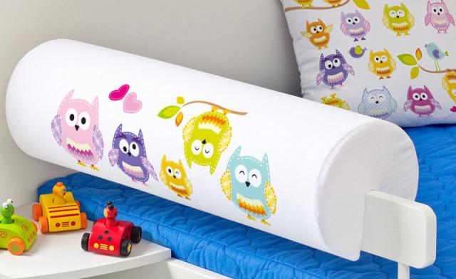 Chránič na postel - Sovičky