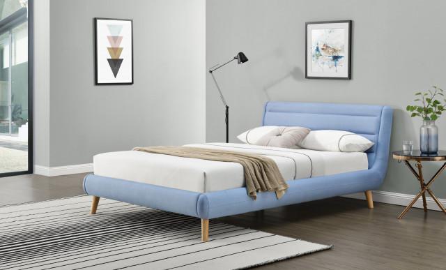 Postel Elanda 140x200 modrá