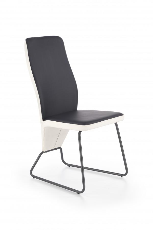 Halmar Jídelní židle K-300 černá/šedá