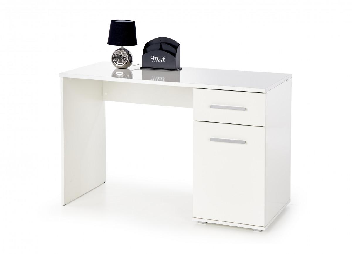 Halmar Psací stůl Lima B-1, bílý
