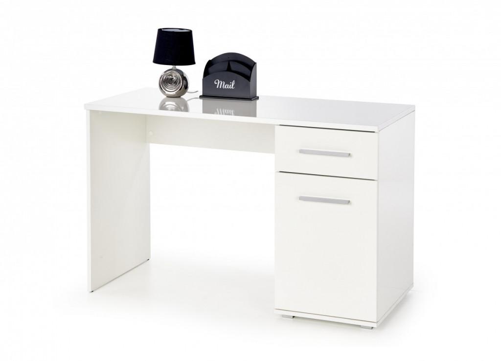 Psací stůl Lima B-1, bílý
