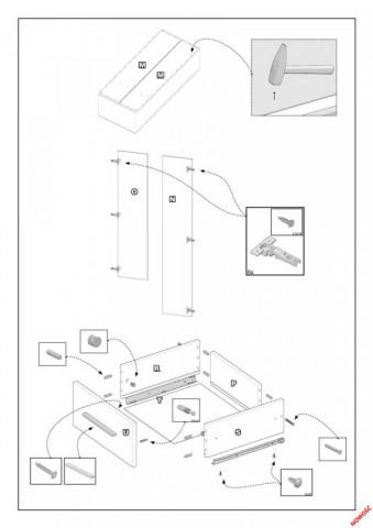 Šatní skříň LIMA S-2, dub sonoma č.3