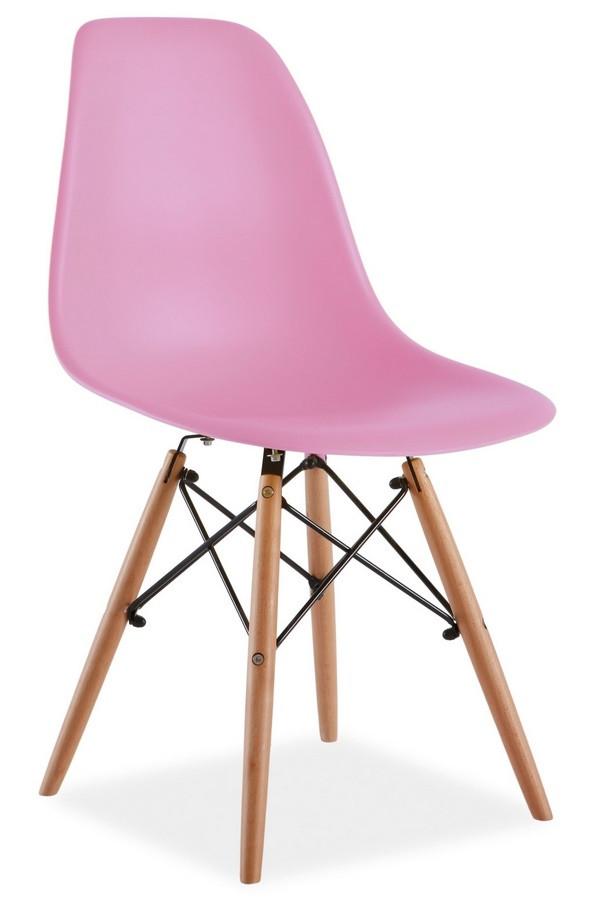 Casarredo Jídelní židle ENZO růžová