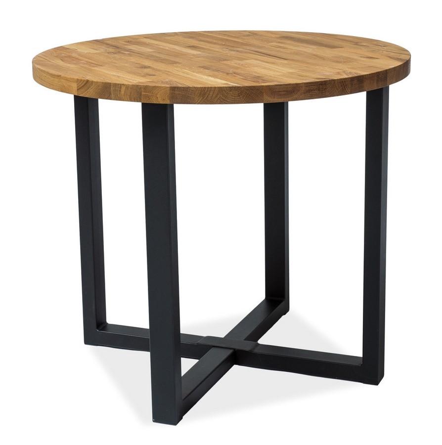 Casarredo Jídelní stůl ROLF dub masiv