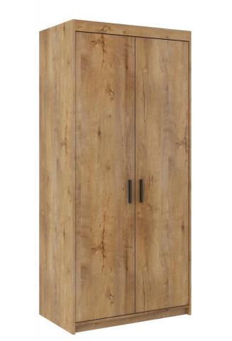 Šatní skříň ELINA 2D dub lefkas