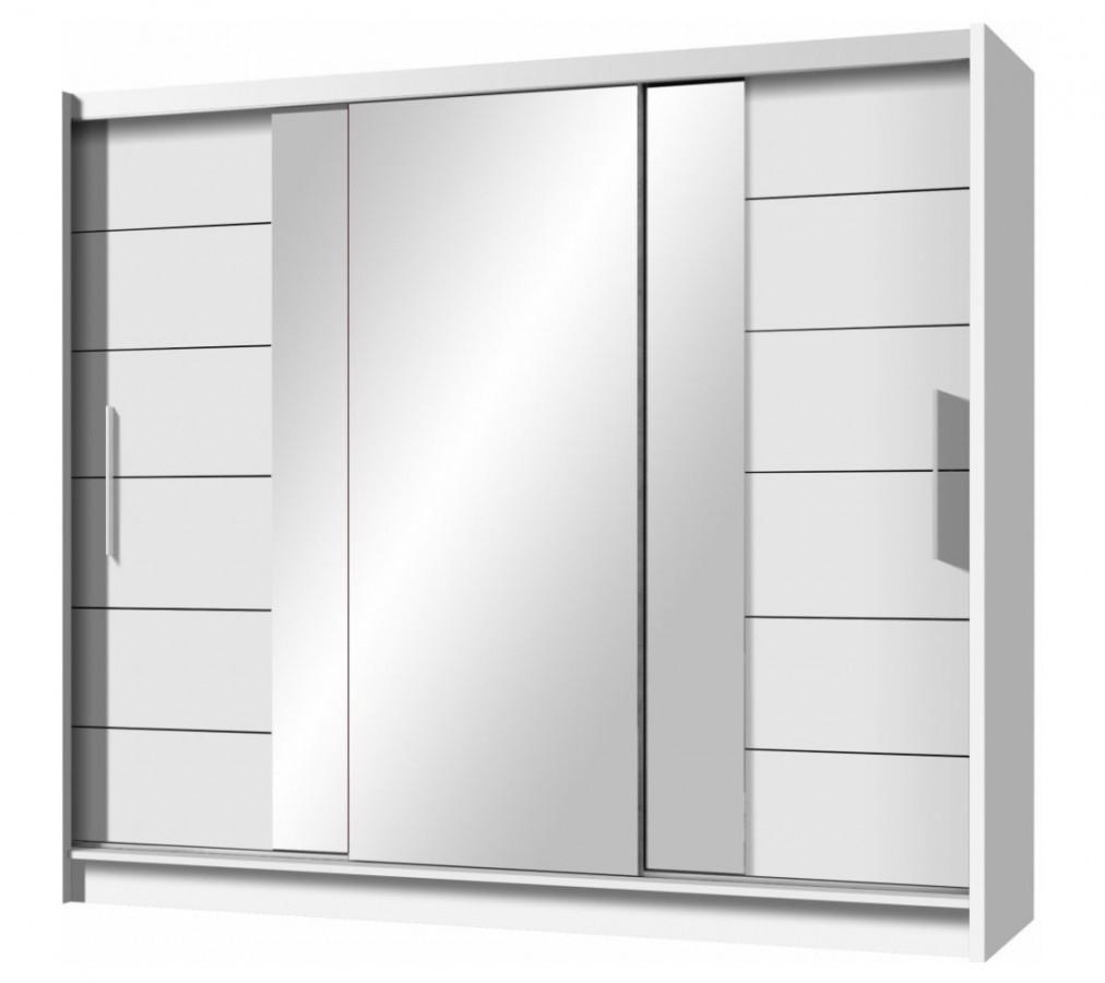Casarredo Šatní skříň LIZBONA 2 250 bílá