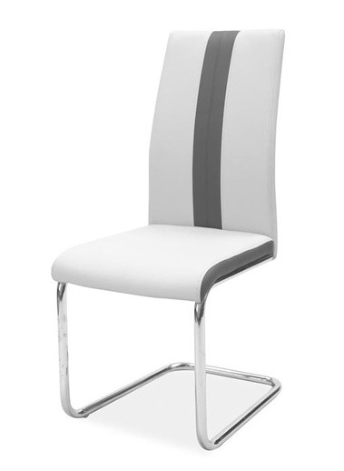 Casarredo Jídelní čalouněná židle H-200 světlá šedá