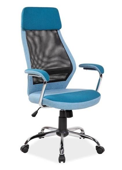 Casarredo Kancelářské křeslo Q-336 modrá