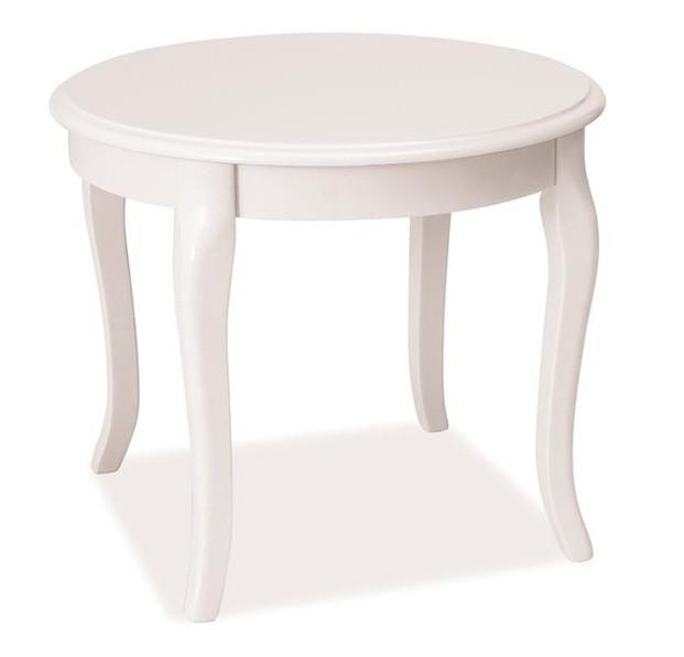 Casarredo Konferenční stolek ROYAL D bílý