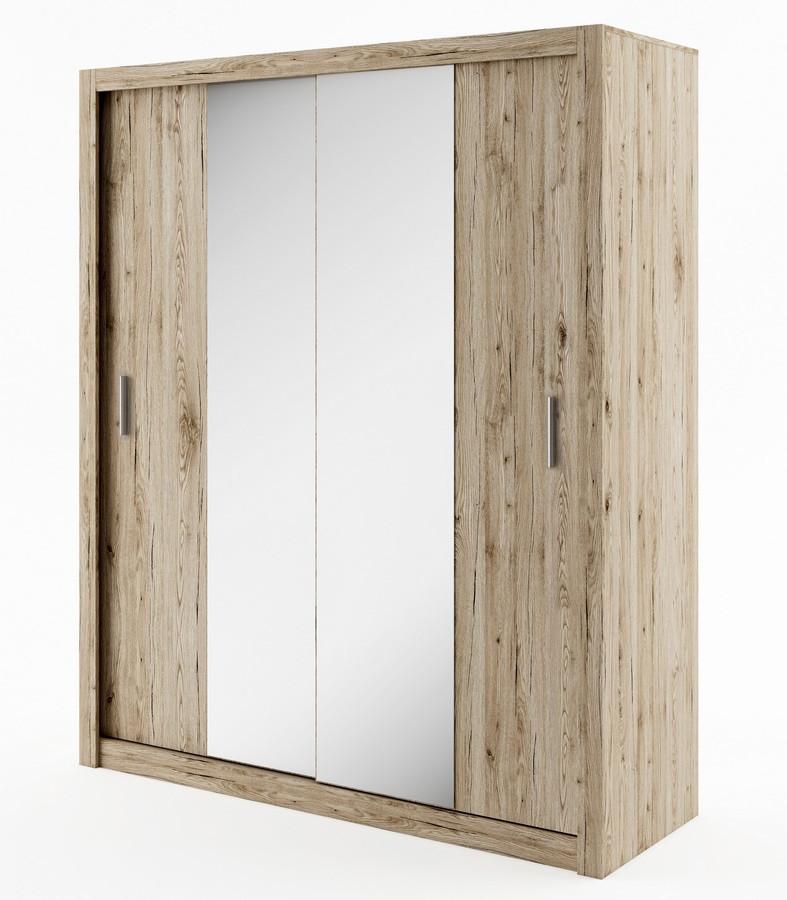 Casarredo Šatní skříň IDEA 03 sanremo zrcadlo 180 cm