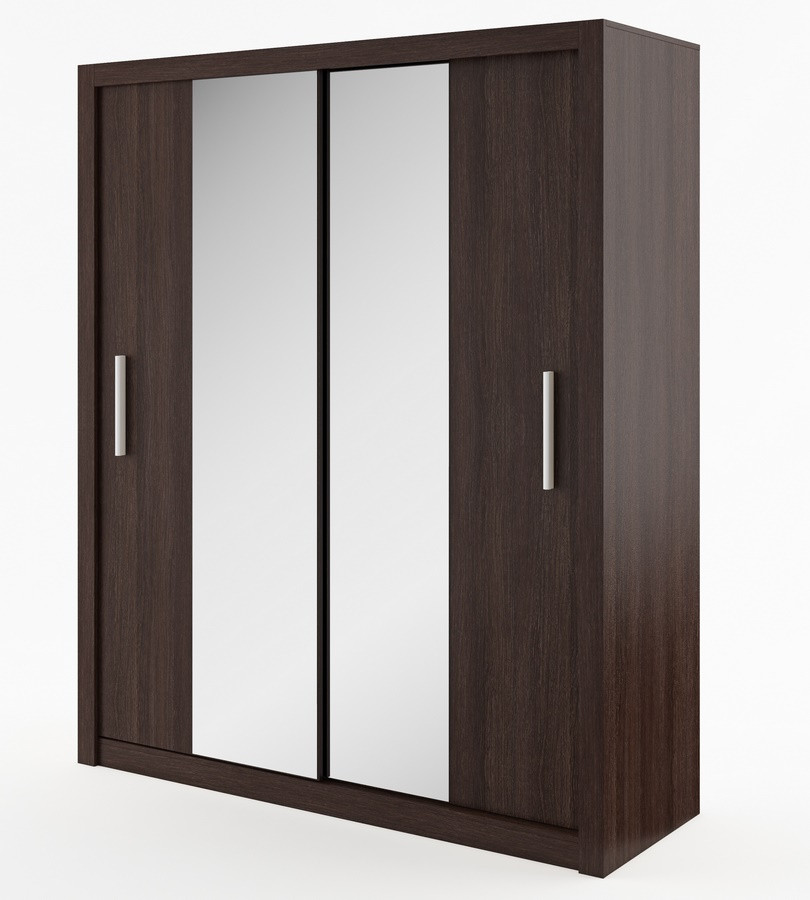 Casarredo Šatní skříň IDEA 03 wenge zrcadlo 180 cm