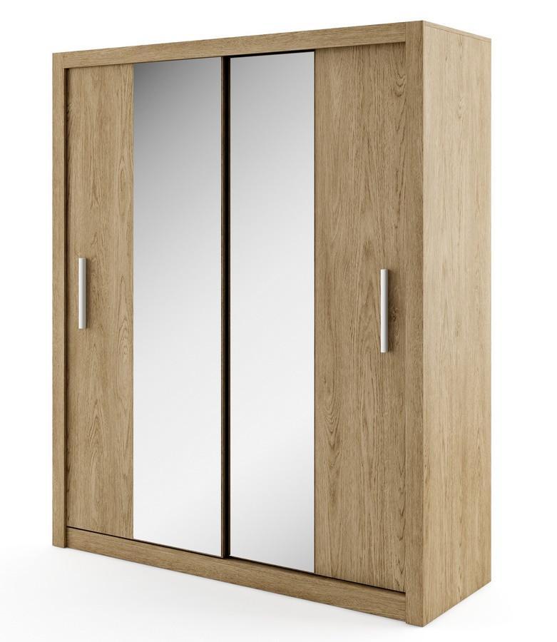 Casarredo Šatní skříň IDEA 03 shetland zrcadlo 180 cm