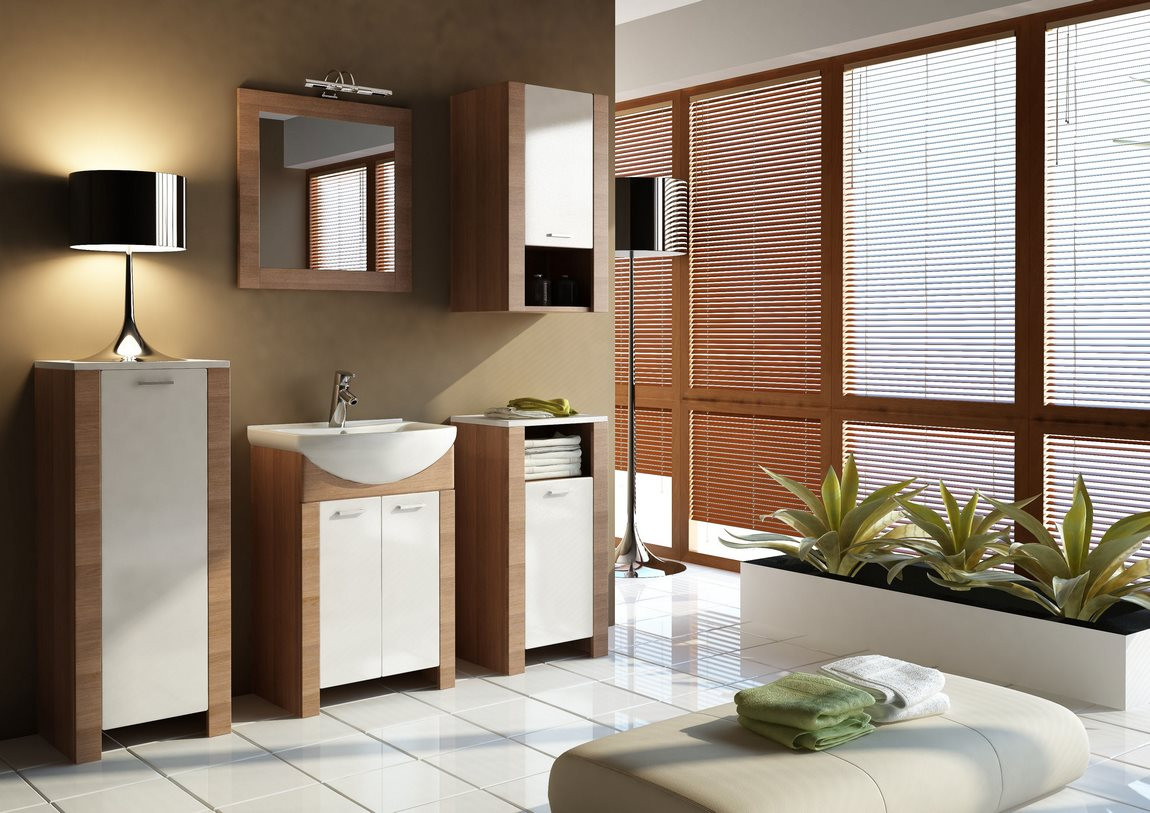 Casarredo Koupelnová sestava TALIA akácie/vanilka
