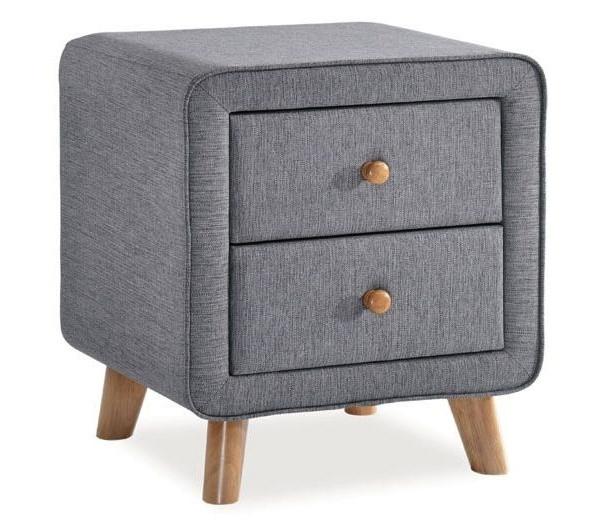 Casarredo Noční stolek MALMO šedý