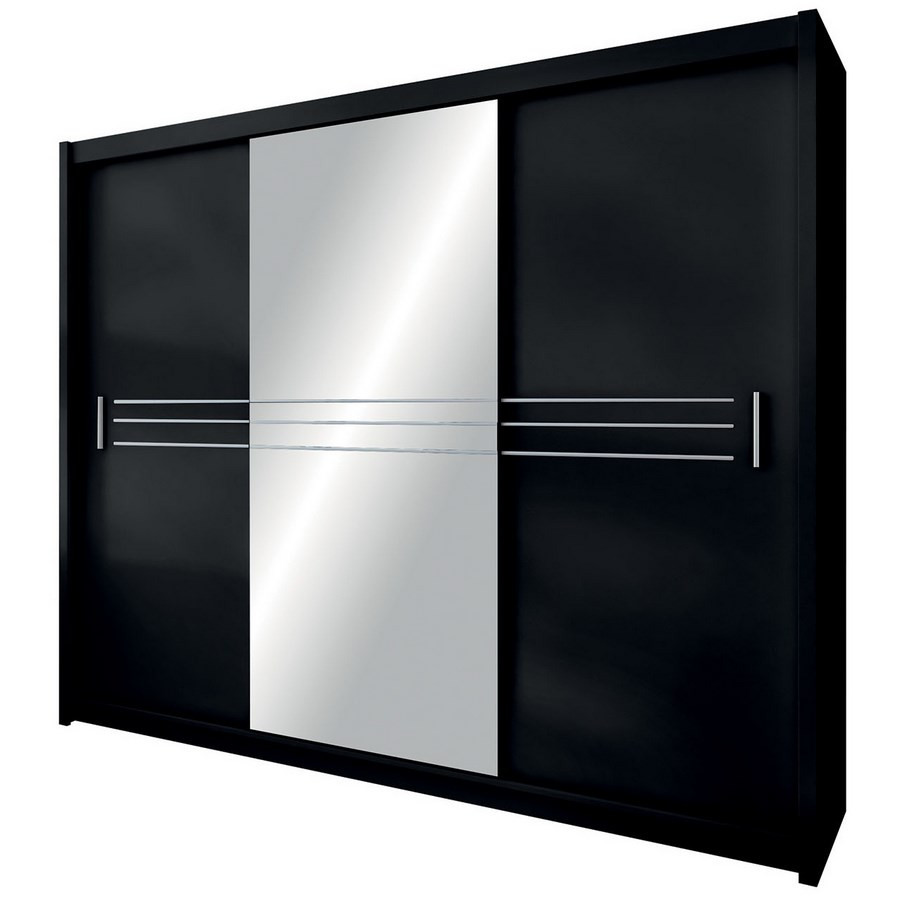 Casarredo Šatní skříň HAVANA 250 černá