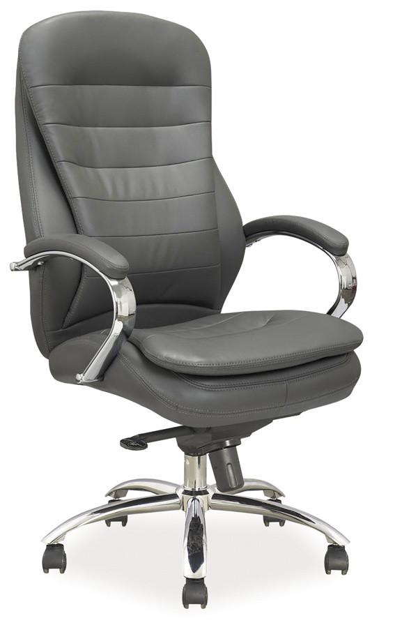 Casarredo Kancelářské křeslo Q-154 šedá