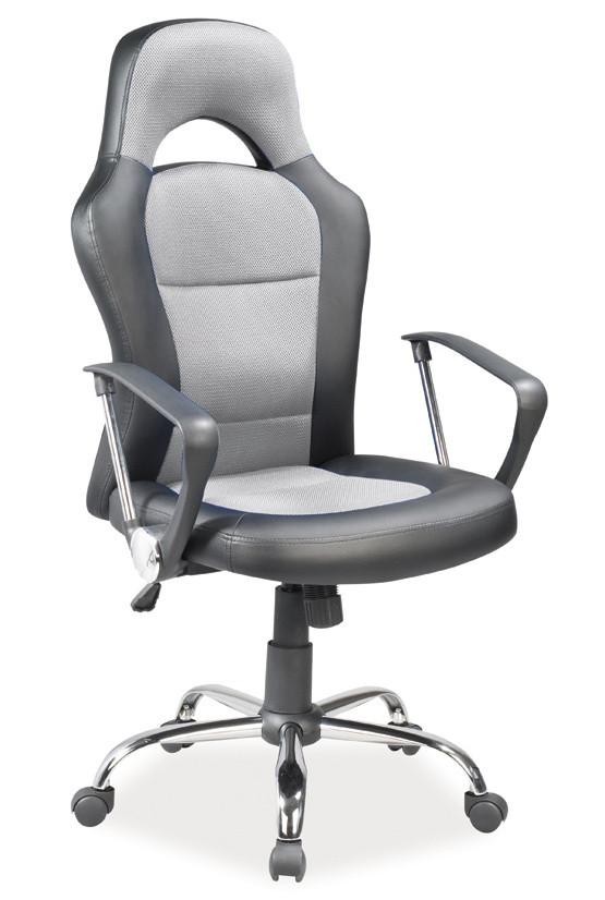 Casarredo Kancelářské křeslo Q-033 šedá