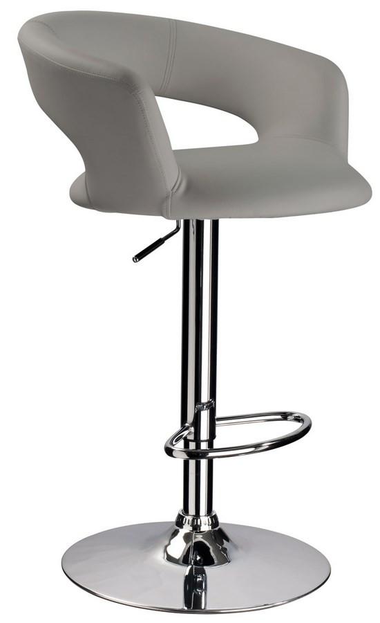 Casarredo Barová židle KROKUS C-328 šedá