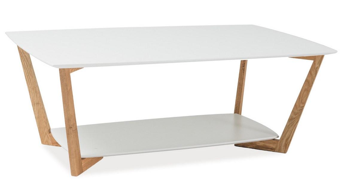Casarredo Konferenční stolek LARVIK A bílý
