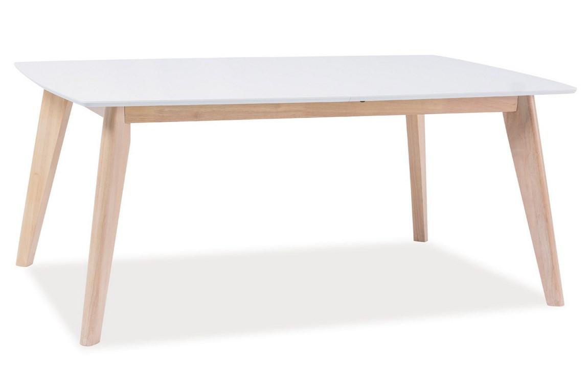 Casarredo Konferenční stolek COMBO B bílá/dub