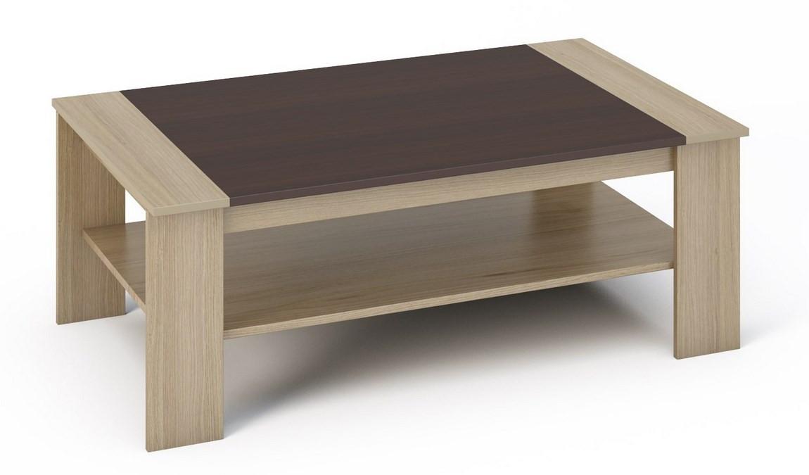 Casarredo Konferenční stolek BERN sonoma/wenge