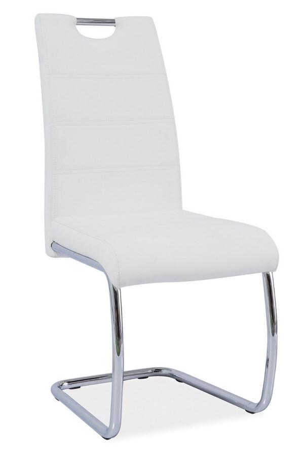 Casarredo Jídelní čalouněná židle H-666 bílá