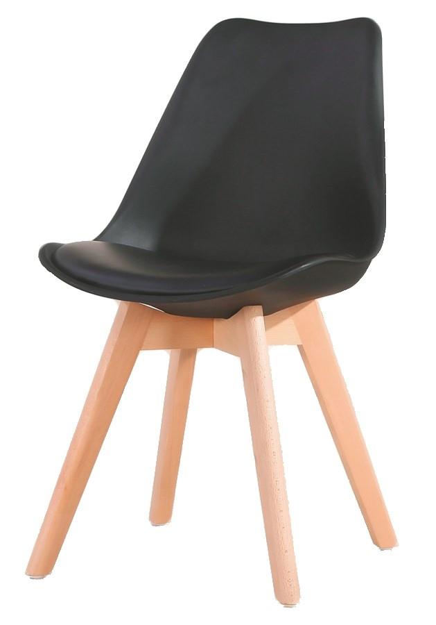 Casarredo Jídelní židle CROSS černá