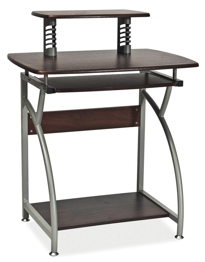 Casarredo Pracovní stůl B-07 tmavě hnědá