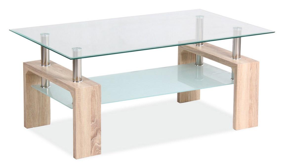 Casarredo Konferenční stolek LISA BASIC II - dub sonoma