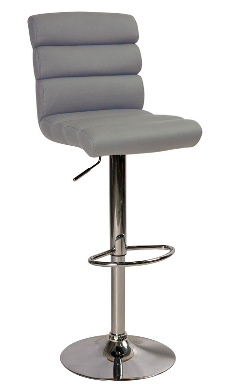 Casarredo Barová židle KROKUS C-617 šedá