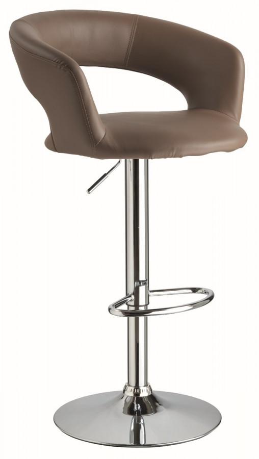 Casarredo Barová židle KROKUS C-328 tmavě hnědá