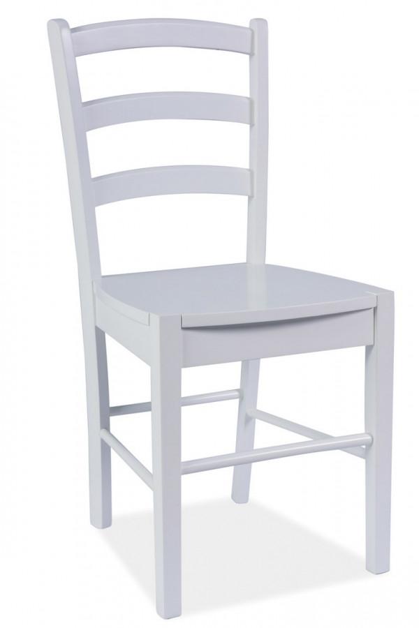 Casarredo Jídelní dřevěná židle CD-38 bílá