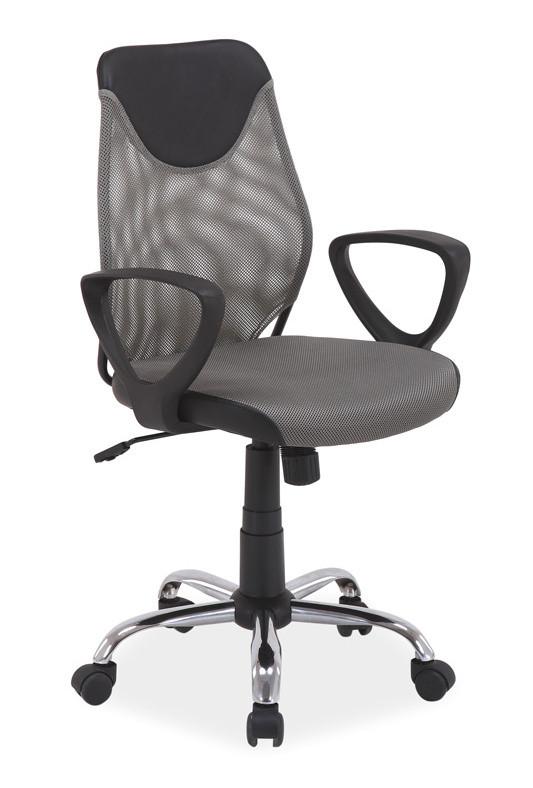 Casarredo Kancelářská židle Q-146 šedá