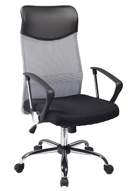 Casarredo Kancelářská židle Q-025 šedá/černá