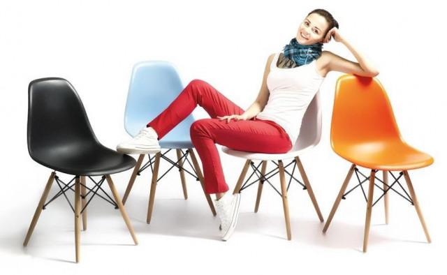 Jídelní židle MODENA červená