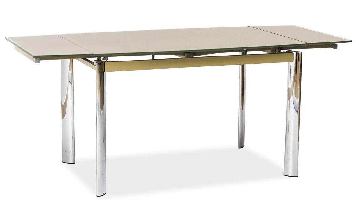 Casarredo Jídelní stůl GD-020 rozkládací tmavý béž
